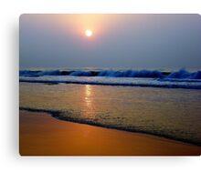Sunset 10 Canvas Print