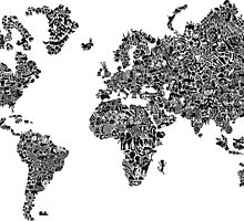 World Map of Stereotypes by Wzzx