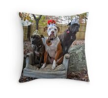 Dog Royalty Throw Pillow