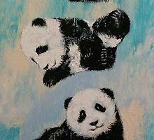 Panda Karate by Michael Creese