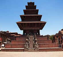 Buddhist pagoda by pljvv