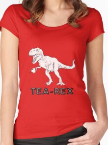 Tea Rex Women's Fitted Scoop T-Shirt