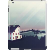 Castle in the Mountains iPad Case/Skin