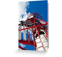 The Red, White and Blue Nelson Buoy!  Greeting Card