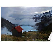 """chancellor hut""   fox glacier. west coast, new zealand Poster"