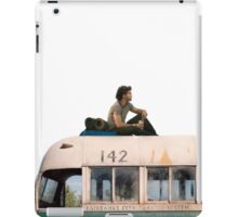 """""""Happiness is only real when shared"""" iPad Case/Skin"""