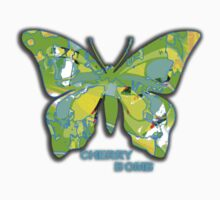 Cherry Bomb- Green Butterfly by AuraAngel