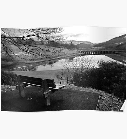 Ladybower Reservoir, Derbyshire Poster