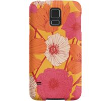 Summer Flowers Samsung Galaxy Case/Skin