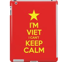 I'm Viet I Can't Keep Calm iPad Case/Skin
