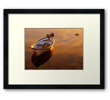 On the Clouds Framed Print
