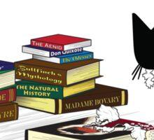 Literary Critic Sticker