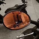 reflection on some scooters by ragman
