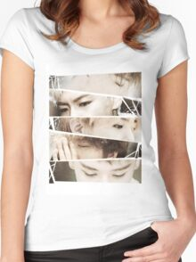 Let's Not Fall in Love BigBang Women's Fitted Scoop T-Shirt