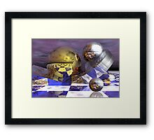 Chaos in universe Framed Print