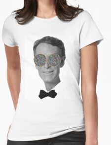 Bill Nye Eyes Womens Fitted T-Shirt