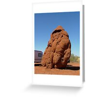 Termite Tower Greeting Card