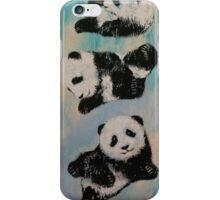 Panda Karate iPhone Case/Skin