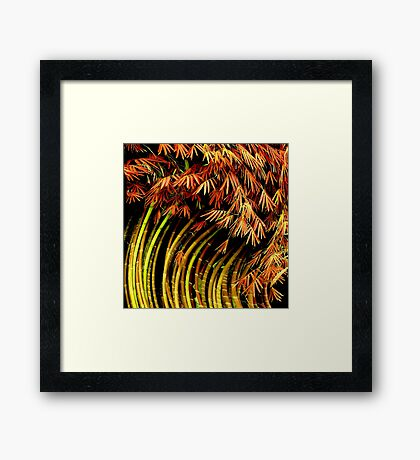 Sway Away from Reality Framed Print