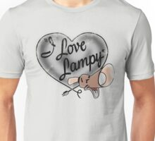 "Brave Little Toaster - ""I Love Lampy""  Unisex T-Shirt"