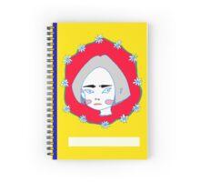 Daisy Girl Book Cover Spiral Notebook