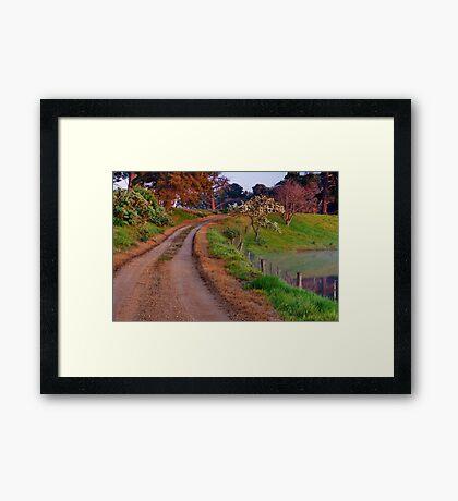 """Homestead Drive"" Framed Print"
