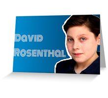 David Rosenthal matilda the musical Greeting Card
