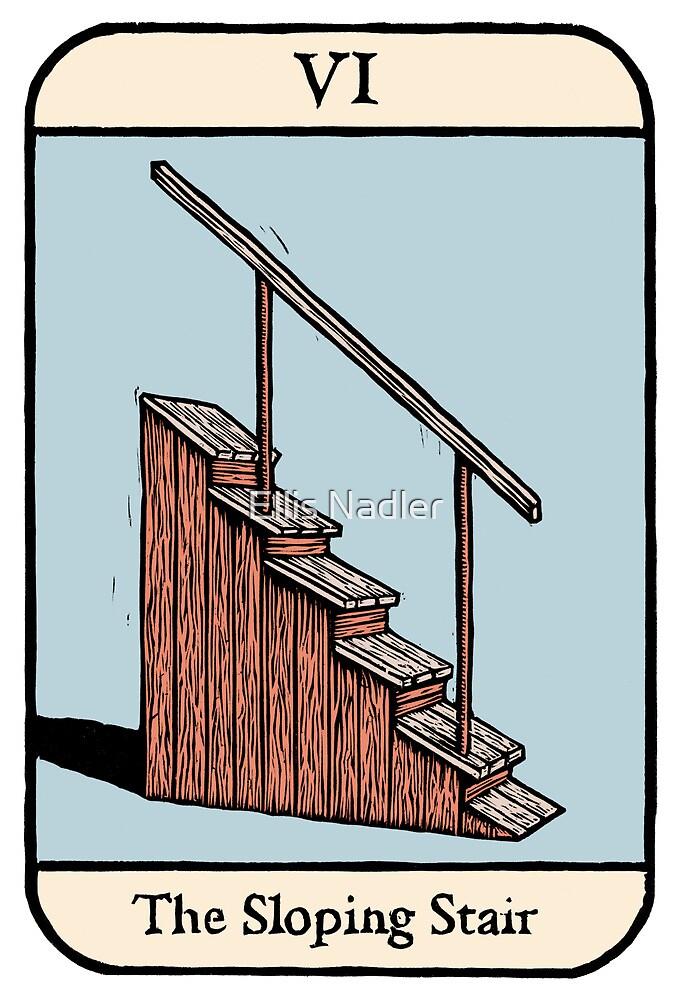 The Sloping Stair by Ellis Nadler