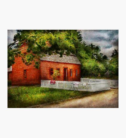 Country - Farm - A small farm house  Photographic Print
