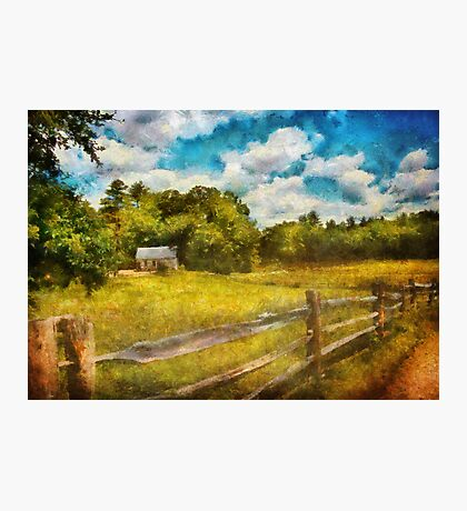 Country - It's so peaceful in the country Photographic Print