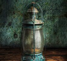 Steampunk - An old lantern by Mike  Savad