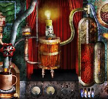 Steampunk - Coffee Break by Mike  Savad