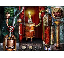 Steampunk - Coffee Break Photographic Print