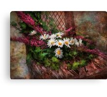 Flower - Seat Reserved Canvas Print