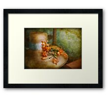 Flower - Spring fashion Framed Print