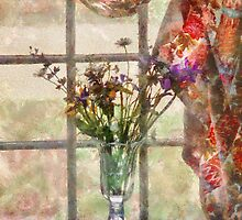 Flower - A vase of flowers  by Mike  Savad