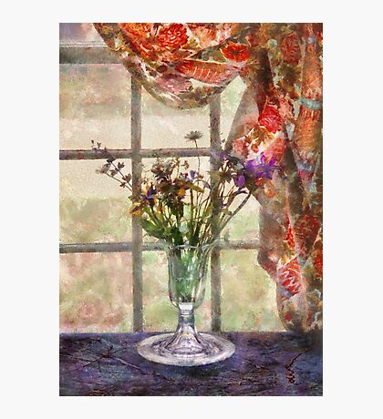 Flower - A vase of flowers  Photographic Print