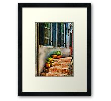 Flowers - Plants - The Stoop  Framed Print