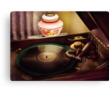 Antique - Playin the oldies  Canvas Print