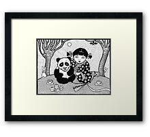 My Little Panda Framed Print