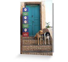 Hair Of The Dogs Greeting Card