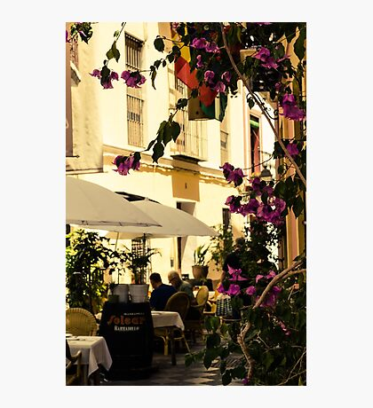 Streets of Seville, Spain  Photographic Print