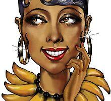 Josephine Baker La Perla Noire by lekashop