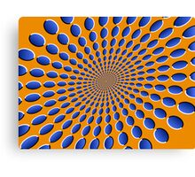 Optical Illusion Pods Canvas Print