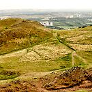 Arthurs Seat Panoramic - Edinburgh - Scotland by UniSoul