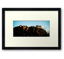 Edinburgh Castle - Edinburgh Framed Print