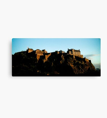 Edinburgh Castle - Edinburgh Canvas Print