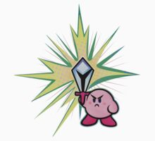 Kirby Sword Kids Tee