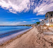 crescent beach by Bill Manocchio