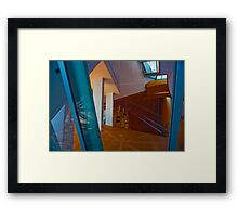 Los Angeles CA Abstract Reflection Framed Print